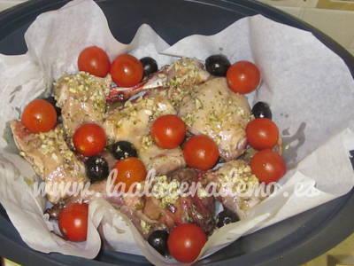 Paso 4: añadir los tomates