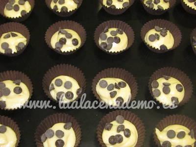 Paso 8: añadir pepitas chocolate