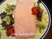 Paté de salmón Thermomix