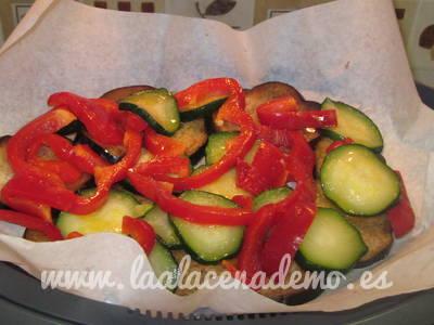 Paso 3: poner verduras en varoma