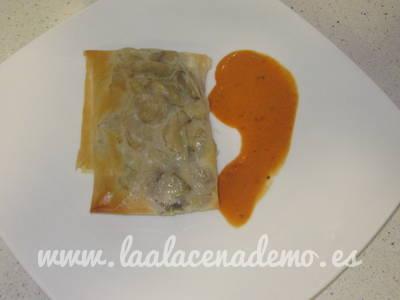 Paso 9: con salsa a parte