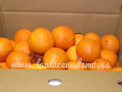 Caja de naranjas Alau