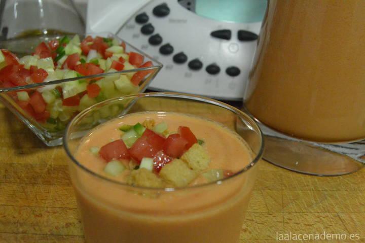 gazpacho andaluz receta original thermomix
