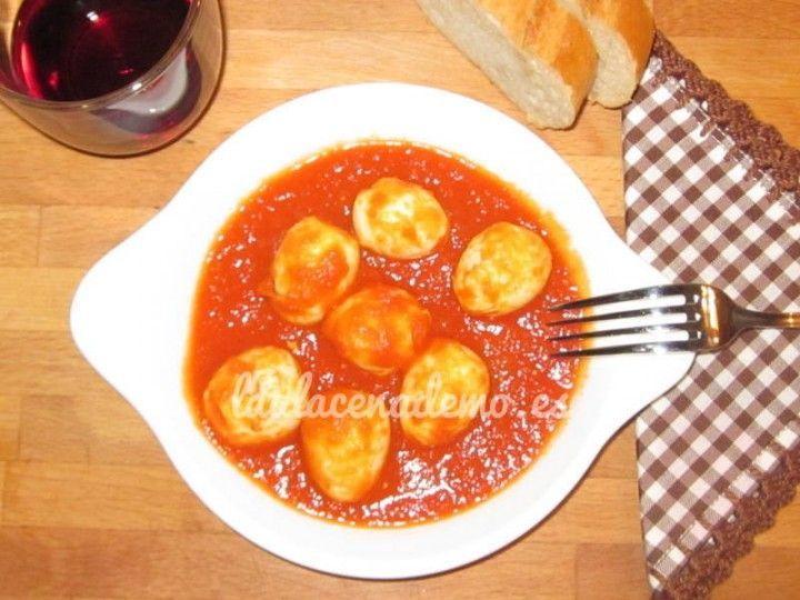 Receta De Huevos De Codorniz Con Tomate Thermomix