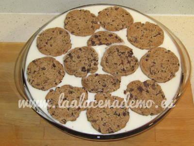 Paso 5: repartir las galletas por encima