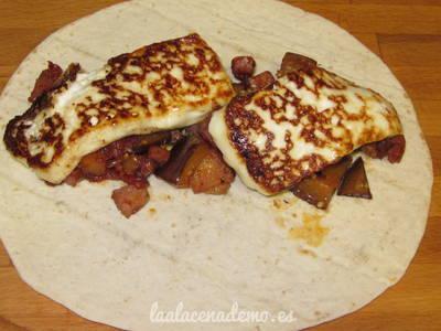 Paso 5: pasa el queso por la plancha