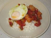 Arroz a la cubana Thermomix