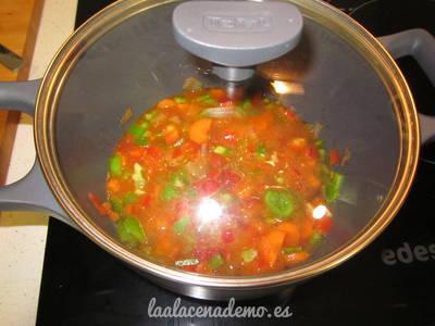 Paso 3: cuece las verduras