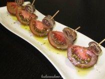 Ensalada de tomates y anchoas