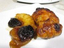 Contramuslos de pollo rellenos al Pedro Ximénez
