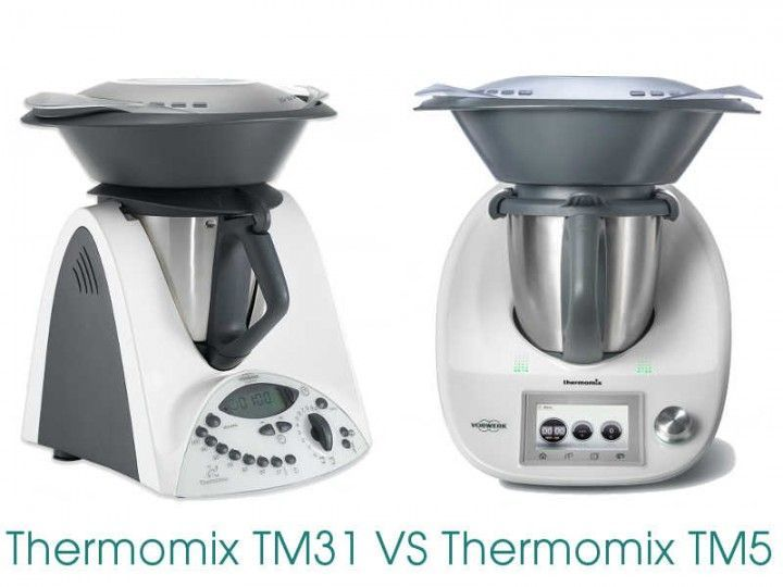 Diferencias entre Thermomix TM31 y Thermomix TM5