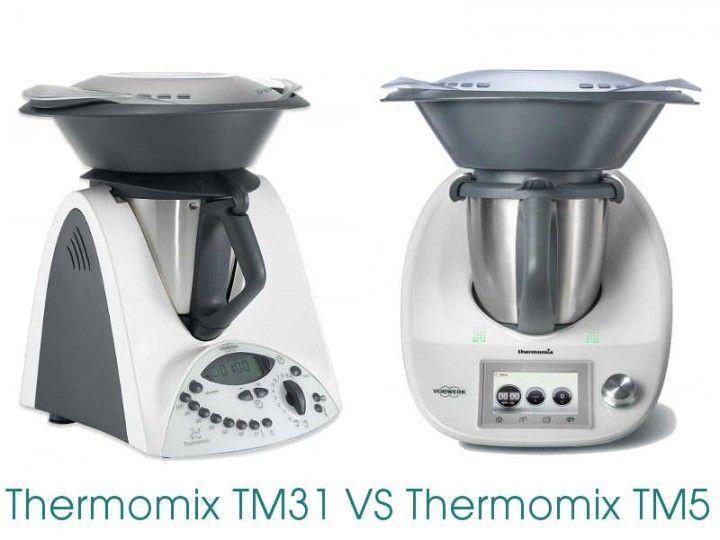 Diferencias entre thermomix tm31 y thermomix tm5 la - Comparativa thermomix y mycook ...