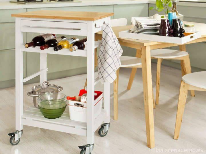 5 ideas para organizar armarios y cocina la alacena de mo - Auxiliar cocina ...