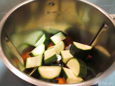 Paso 1: trocea las verduras