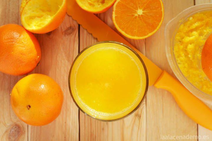 Zumo de naranja con Thermomix