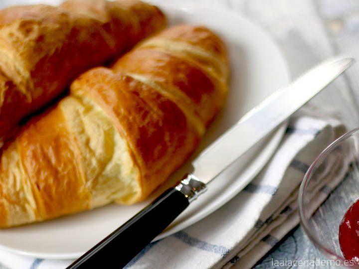 Croissant Thermomix o Cruasanes