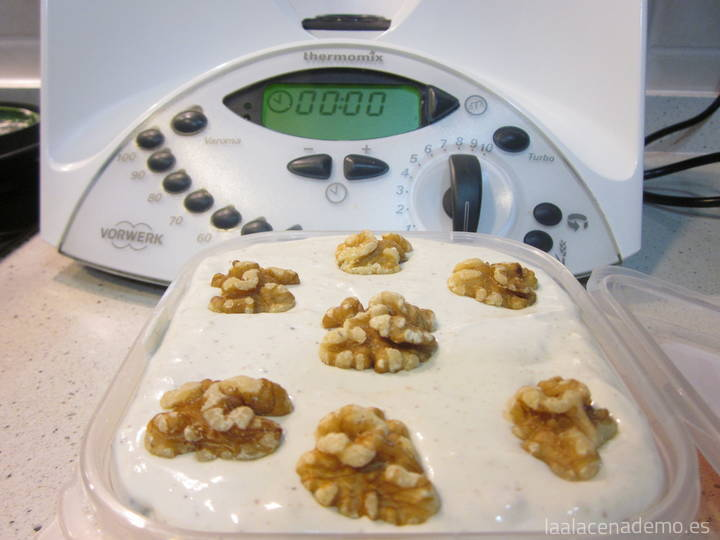 Paté de Queso y Nueces con Thermomix