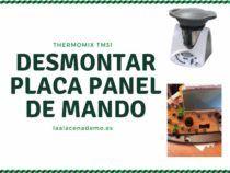 Desmontar Placa Panel de Mando Thermomix TM31