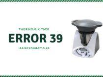 Error 39 Thermomix TM31