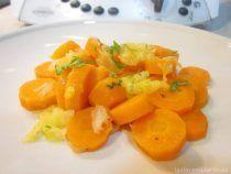 Zanahorias encebolladas Thermomix