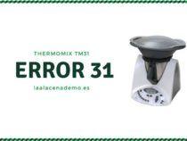 Error 31 Thermomix TM31