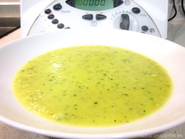 Puré Fácil de Verduras con Thermomix