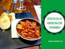 Sepia en salsa americana Thermomix