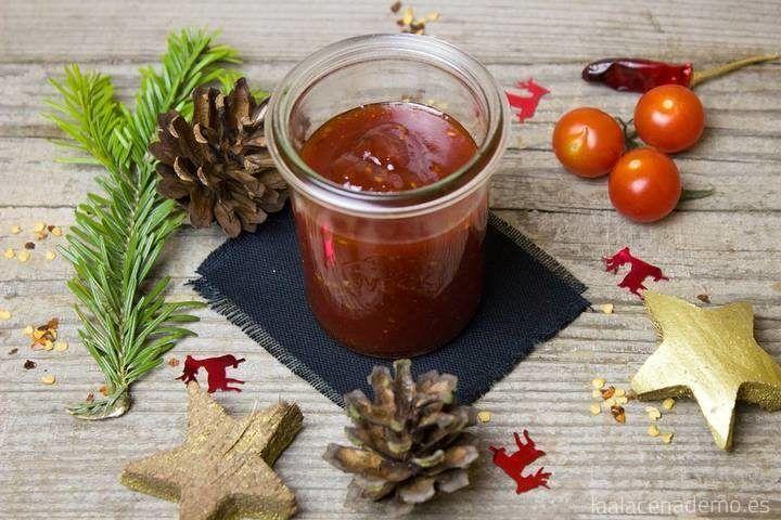 Confitura o mermelada de tomate con Thermomix