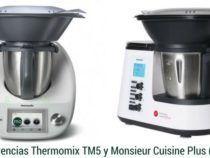 Diferencias Thermomix TM5 y Monsieur Cuisine Plus de Lidl