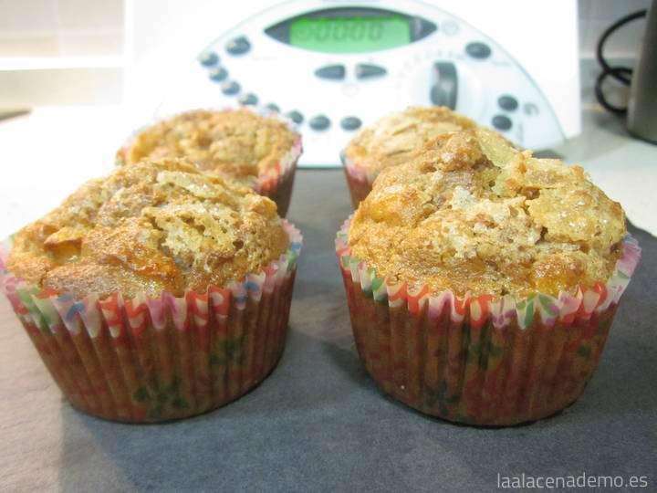 Muffins de Manzana y Nueces con Thermomix