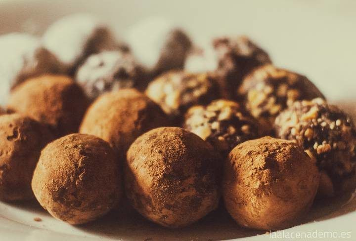 Trufas de chocolate con Thermomix