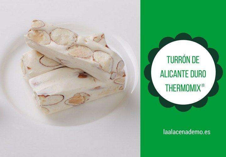Turrón de Alicante con Thermomix (Turrón duro)
