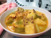 Tofu al Curry en Thermomix